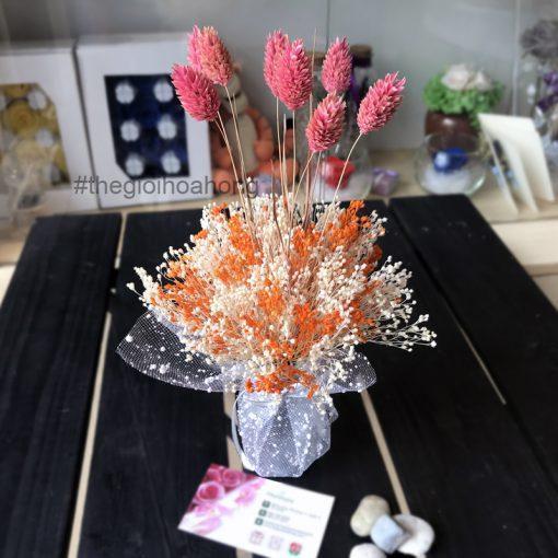 Bình hoa Bloom khô