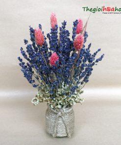 Bình hoa lavender L0038
