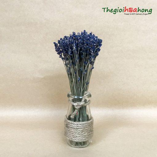 Bình hoa lavender khô L0009