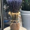 Bình hoa lavender oải hương khô L0003