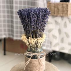 Bình hoa lavender oải hương khô nhập Pháp