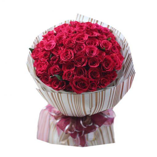 Bó hoa hồng đỏ - Em là tất cả
