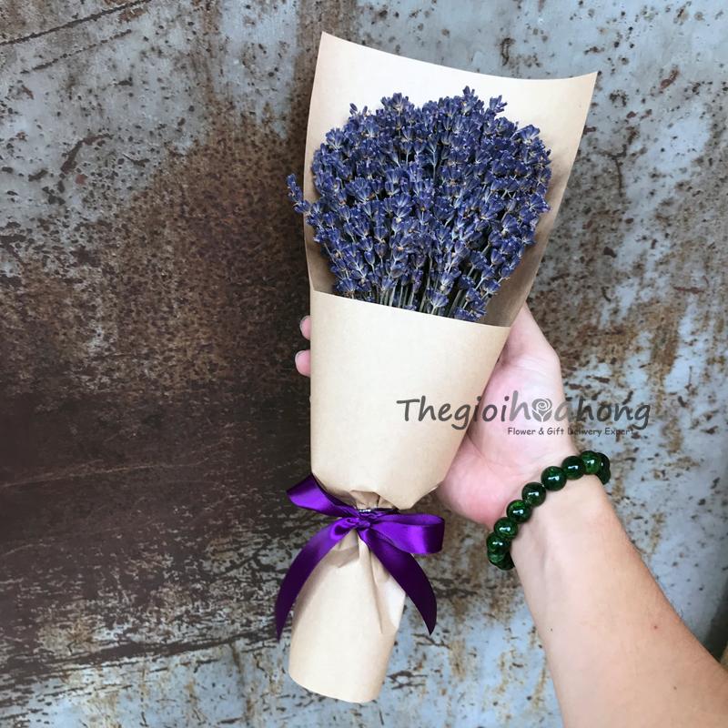 Bó hoa lavender L0035