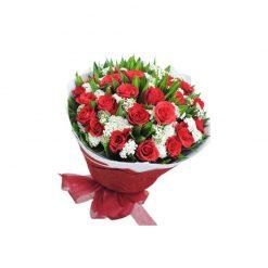 Bó hoa tươi - Tình yêu diệu kỳ