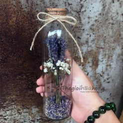 Lọ hoa lavender khô L0010