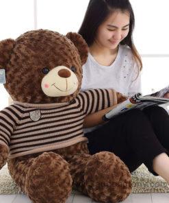 Gấu Teddy áo len choco