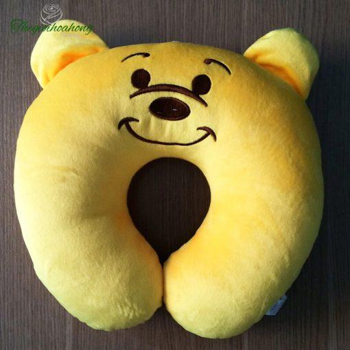 Gối kê cổ chữ U gấu Pooh