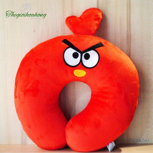 Gối kê cổ chữ U Angry Bird