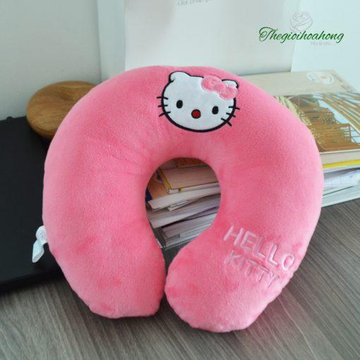 Gối kê cổ chữ U Hello Kitty