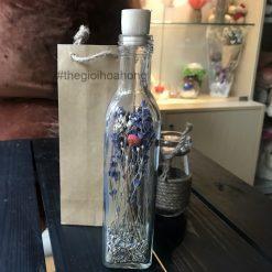 Lọ hoa lavender khô L0038