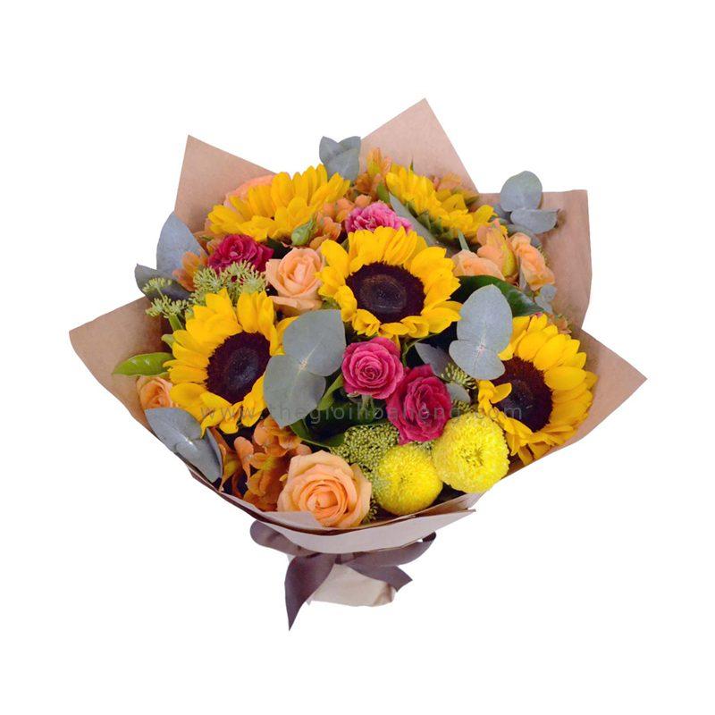 Bó hoa hướng dương - Chân Thành