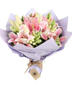 Bó hoa Ly - Kiêu Hãnh