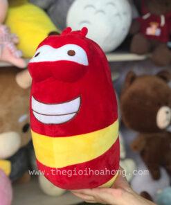 Gấu bông larva đỏ