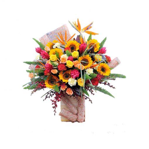 Hộp hoa tươi - Lịch Lãm