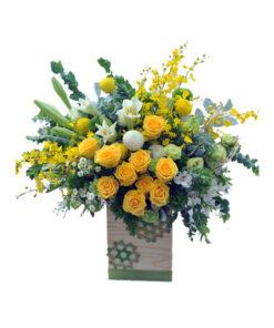 Hộp hoa tươi - Rực rỡ