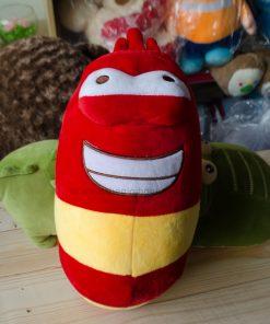 Gấu bông sâu larva đỏ