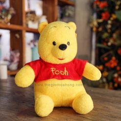 Gấu Pooh lông xù nhồi bông