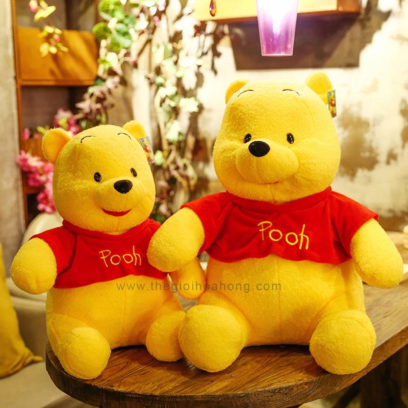 Gấu pooh lông xù