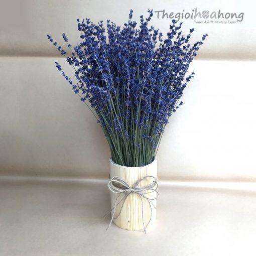 Lọ hoa lavender khô L0047