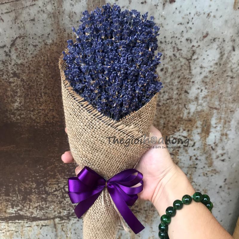 Bó 170-180 cành hoa oải hương - Lavender khô 100% Pháp