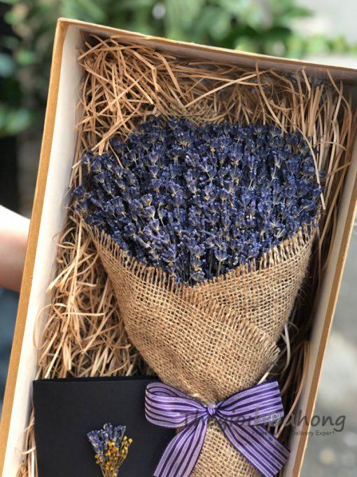Hộp Hoa lavender - Oải hương khô L0049