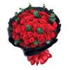 Bó 100 hoa hồng đỏ - Tình Nồng