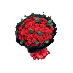 Bó hoa hồng đỏ HT0097
