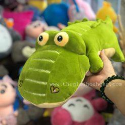 Cá sấu bông mắt lồi