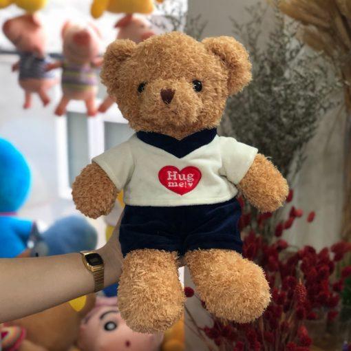 Gấu Teddy áo thun Hug Me