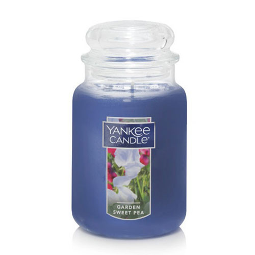 Nến thơm Yankee Candle Garden Sweet Pea