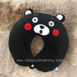 Gối kê cổ gấu Kumamon