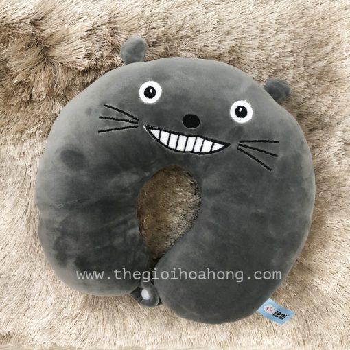 Gối kê cổ totoro nhung