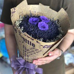 Lavender hoa hồng tím