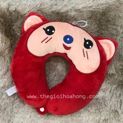 Gối kê cổ chữ U Mèo đỏ