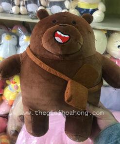 we baer bears gấu nâu đeo cặp