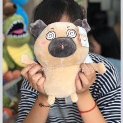 Gấu bông chó Pug nhung