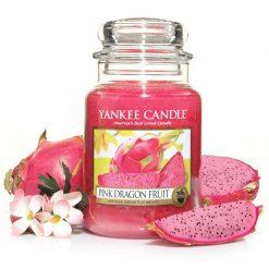 Nến hũ Pink Dragon Fruit