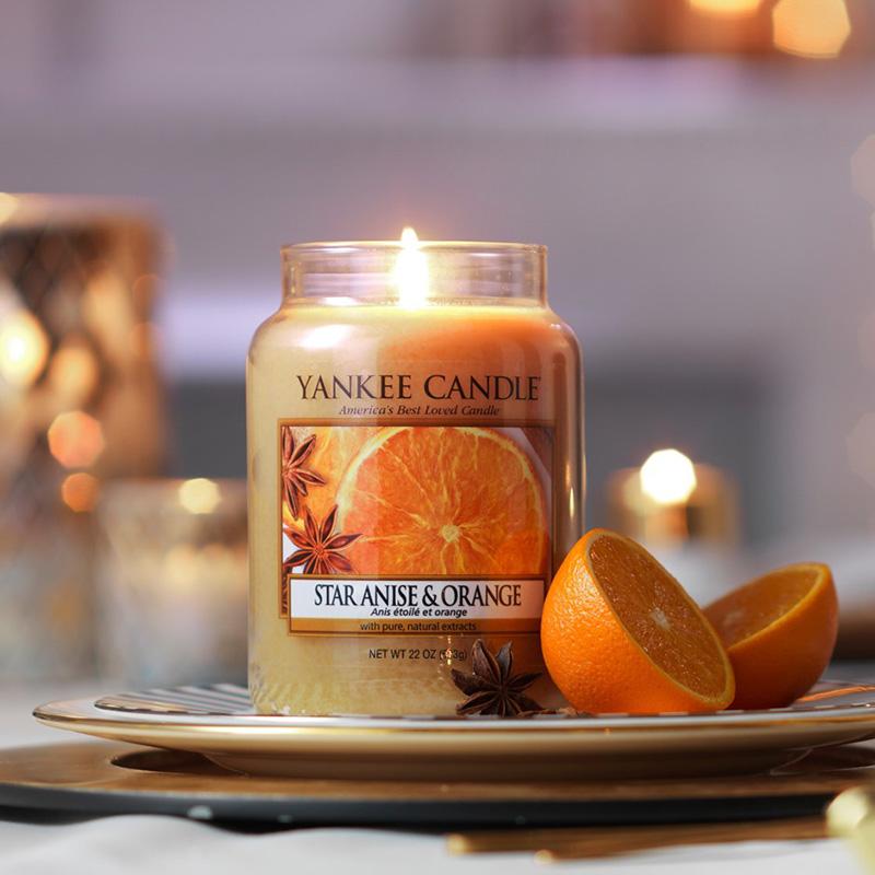 Nến hũ Star Anise & Orange