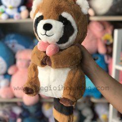 Gấu bông sóc lông xù