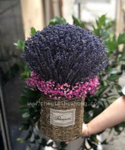 Giỏ hoa lavender - oải hương khô Darling Darling