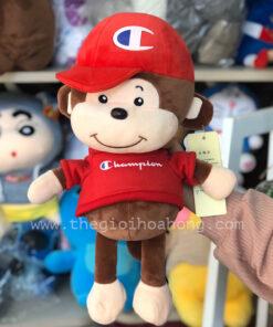 Khỉ bông Champion - Gấu bông khỉ áo champion