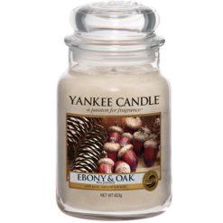 Nến Hũ Ebony & OAK Yankee Candle