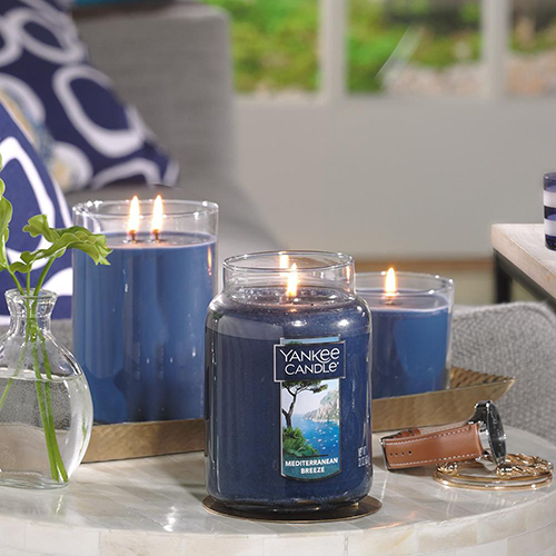 Nến thơm Yankee Candle Mediterranean Breeze