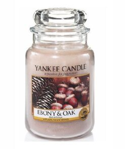 Nến thơm Yankee Candle Ebony & OAK