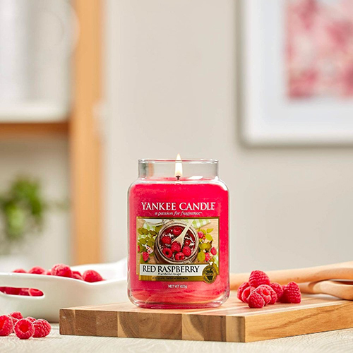 Nến hũ Red Raspberry