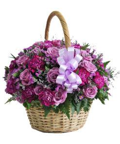 Giỏ hoa tươi - Đam mê