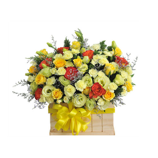 Hộp hoa tươi - For You