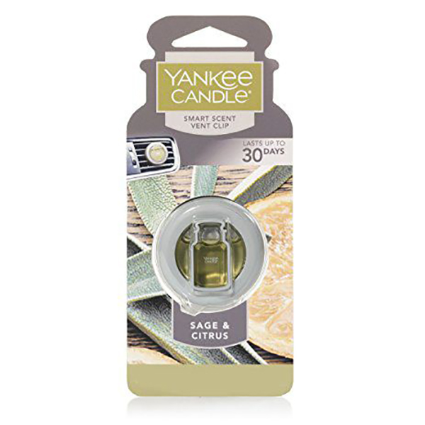 Kẹp thơm xe Sage & Citrus Yankee Candle