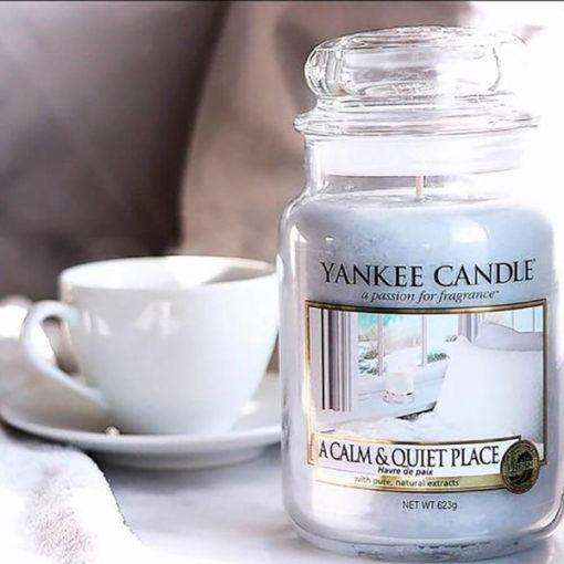 Nến hũ A Calm & Quiet Place Yankee Candle