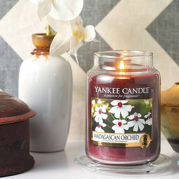Nến Hũ Madagascan Orchid Yankee Candle
